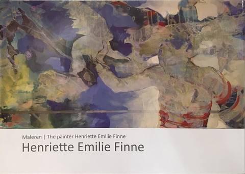 Bilde av Maleren Henriette Emilie Finne