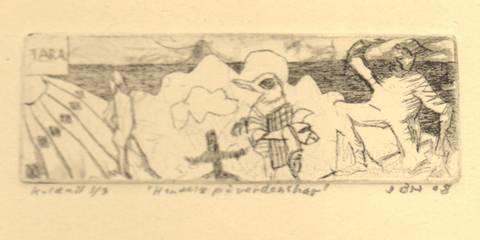 Bilde av Hendelse på verdenshav av Johannes B. Hansen