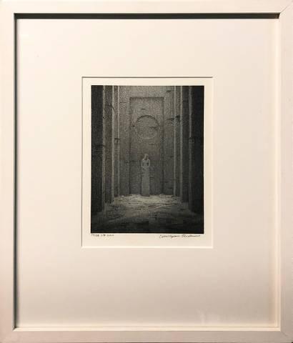 Bilde av Tempel av Christopher Rådlund m/ramme