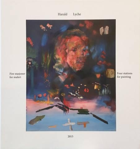 Bilde av Fire stasjoner for maleri av Harald Lyche