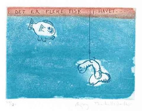 Bilde av Det er flere fisk i havet av Bjørg Thorhallsdottir