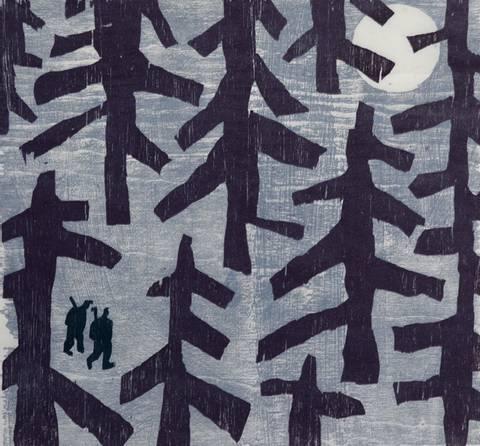 Bilde av To svarte karer av Gunhild Vegge og Lasse Kolsrud