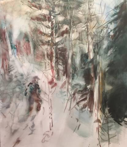 Bilde av Den som har gått i djup snø av Mona Grønstad