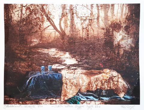Bilde av Idet natten slipper lyset til (brun) av Elisabeth Werp