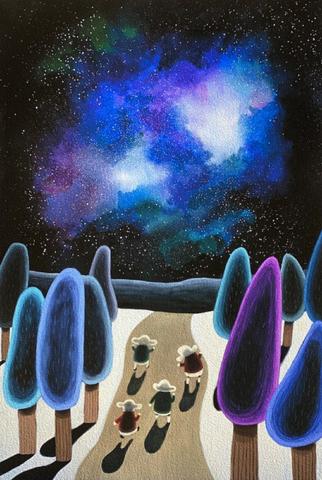 Bilde av Stjerneskinnstur av Gunilla Holm Platou