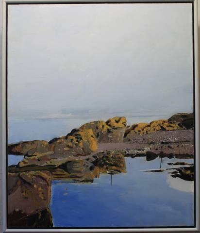 Bilde av Stillhet, maleri av Odd Skullerud