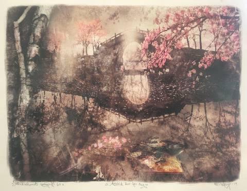 Bilde av Alltid der for deg (rosa silketrykk) av Elisabeth Werp