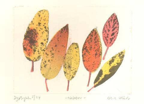 Bilde av Oktober av Marie-Ann Mürer (liten)