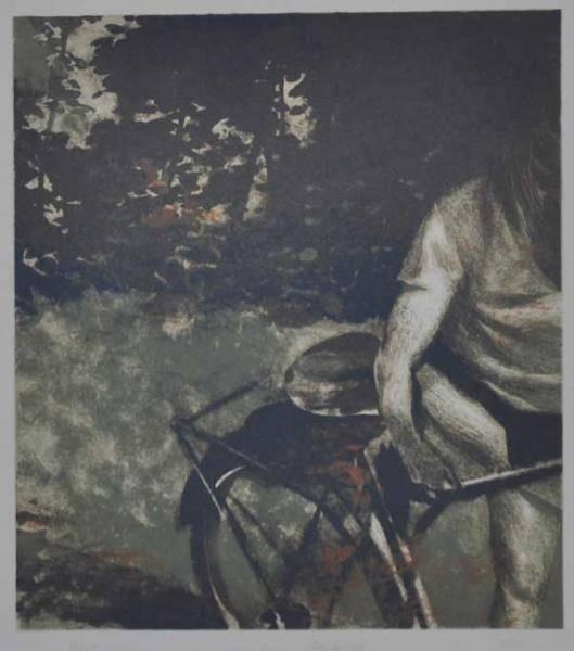 Sykkeltyv av Lars Elling