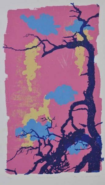 Cherry Blossom II av Ann Lundstrøm