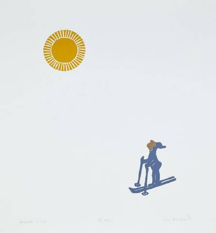 Bilde av Ut på ski / på ski av Eli Hovdenak