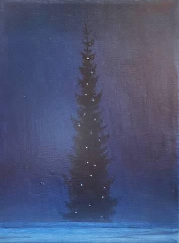 Bilde av Julegran II av Christopher Rådlund