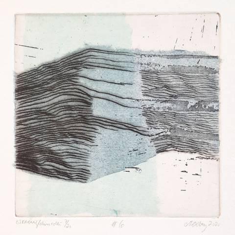 Bilde av #6 (blå) av Marianne Boberg