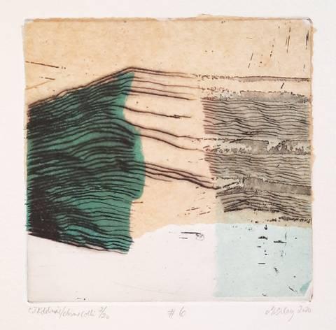 Bilde av #6 (blå/grønn) av Marianne Boberg