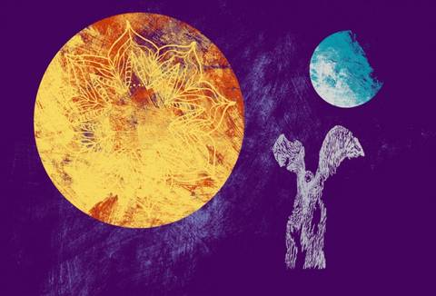 Bilde av Kalevala - Sol og måne av Gunhild Vegge og Lasse Kolsrud