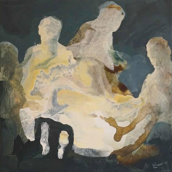 Stemning, maleri av Henriette Emilie Finne