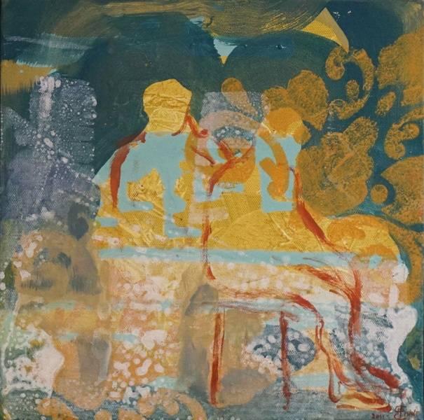 Nærvær, maleri av Henriette Emilie Finne