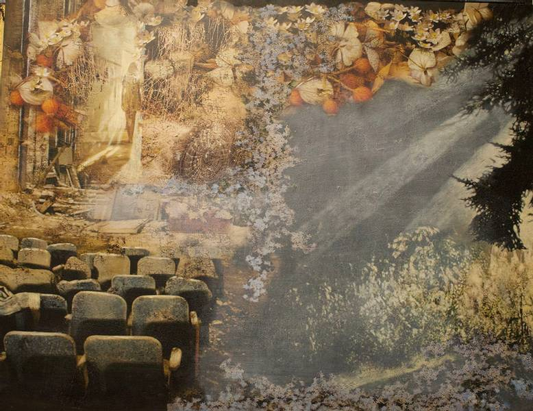 Utstilling høst - vinter - vår -sommer av Elisabeth Werp 2