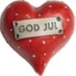 Bilde av Hjärta God Jul L.5cm