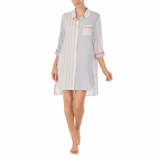 DKNY side sleepshirt 3/4 offwhite