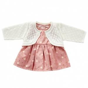 Bilde av By Astrup, rosa kjole m/hvit