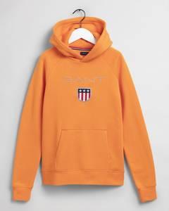 Bilde av Gant, shield hoodie russet