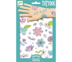 Bilde av Djeco, tatoveringer blomster