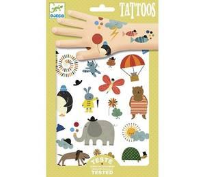 Bilde av Djeco, tatoveringer med søte