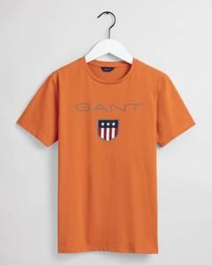 Bilde av Gant, shield t-skjorte russet