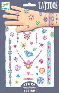 Bilde av Djeco tattoos Jennis jewels
