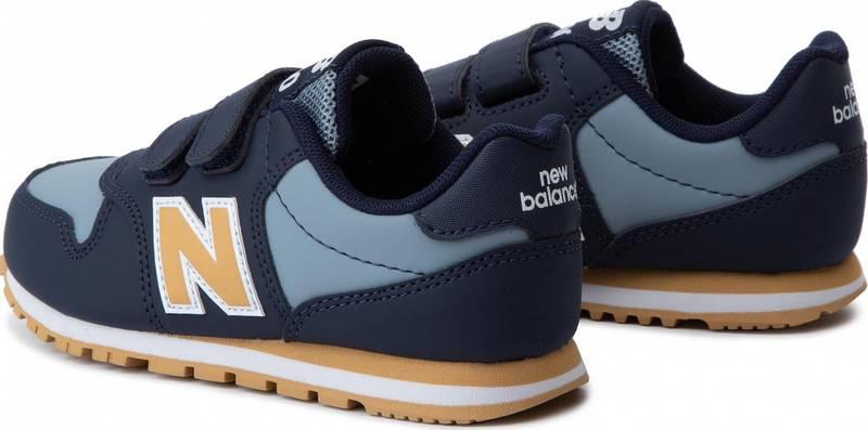 New Balance, joggesko blå/gul