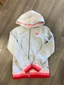 Bilde av Levis, zip hoodie grey