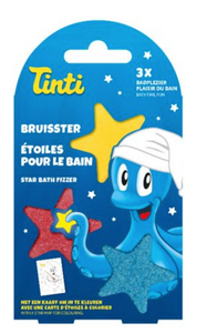 Bilde av Tinti, star bath fizzer 3pk