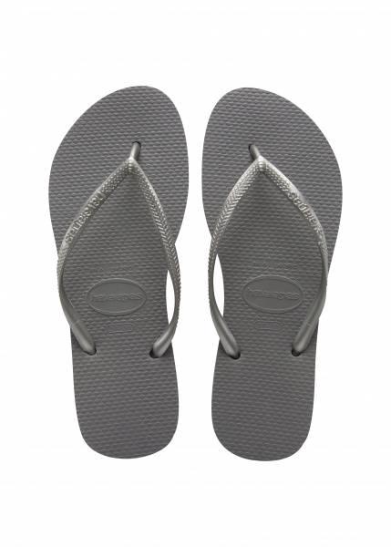 Havaianas, slim grey/silver