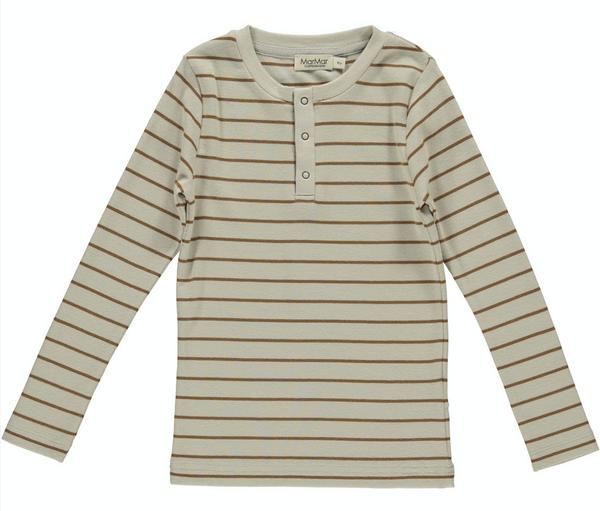 Bilde av genser trevor leather stripe