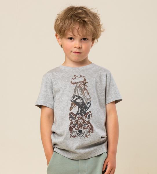 Bilde av T-skjorte ted animal tower