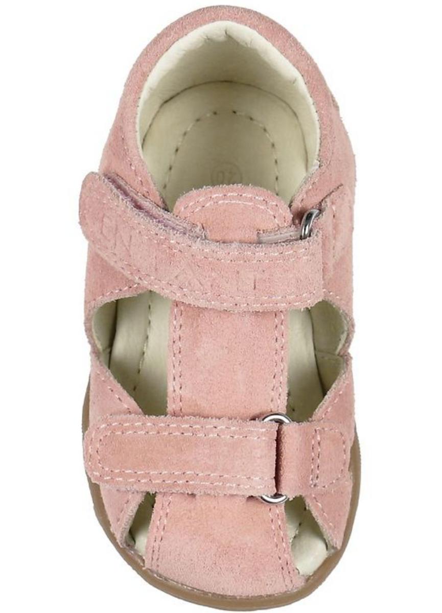 sandal enfant uranus rose suede