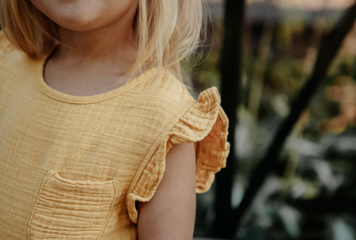 Kjole enfant ochre