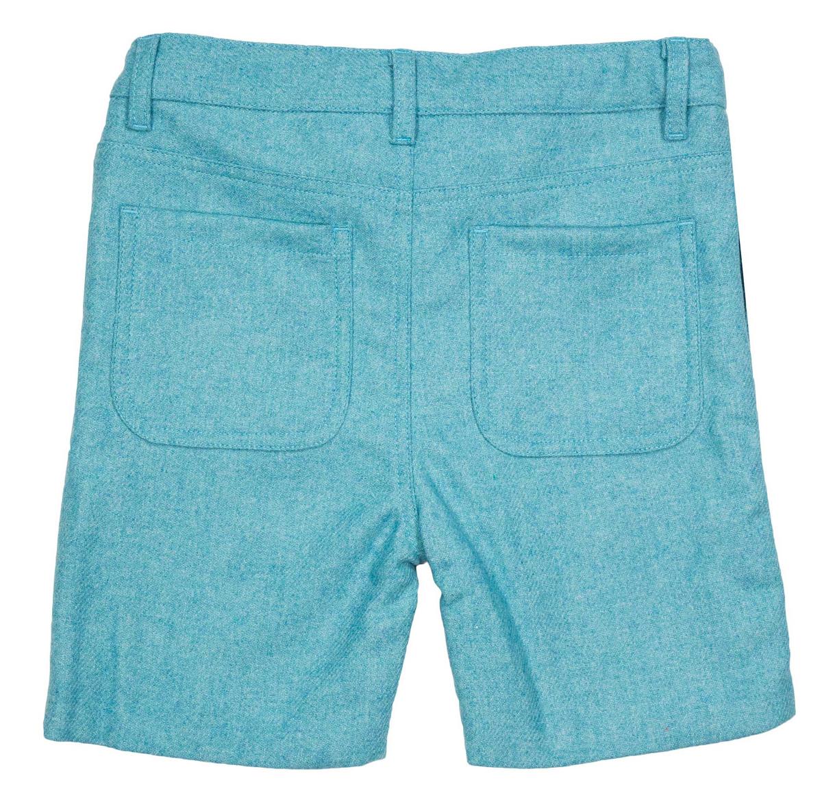 kortbukse Henry ull ocean blue