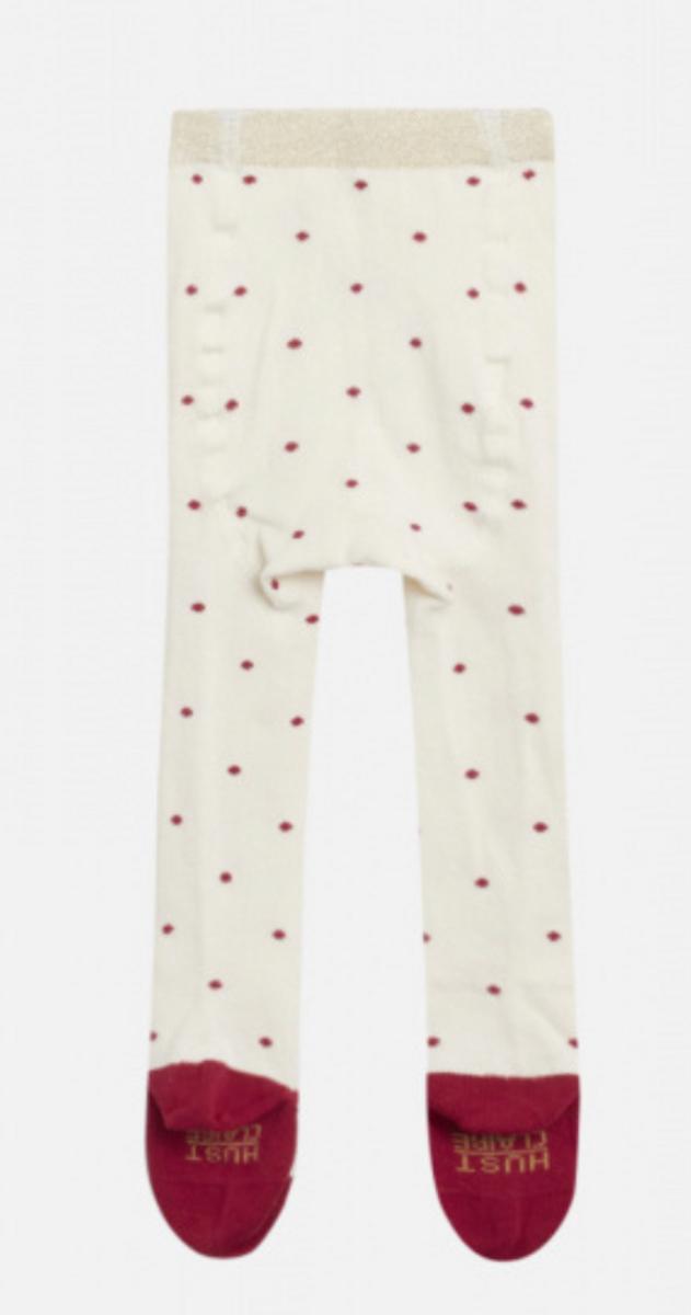 strømpebukse Frankie red dot