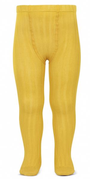 Bilde av Strømpebukse cóndor rib gul