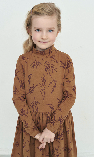 Bilde av kjole cecilie tobacco