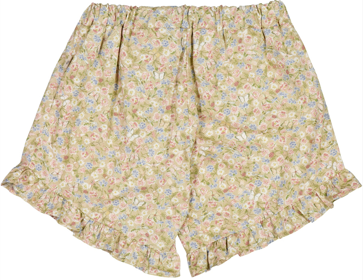 Shorts dolly bees and flowers