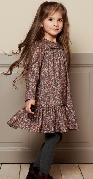 Bilde av kjole Dagmar petroleum