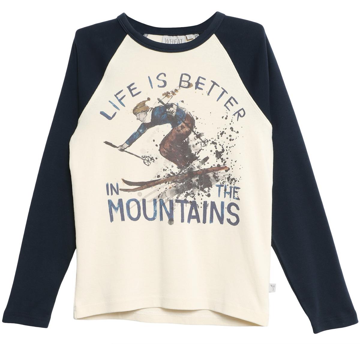 genser vintage skiing