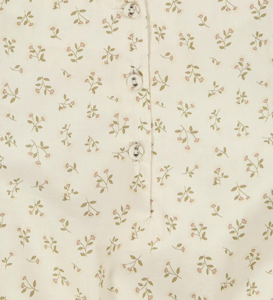 Kjole Vilde eggshell flowers
