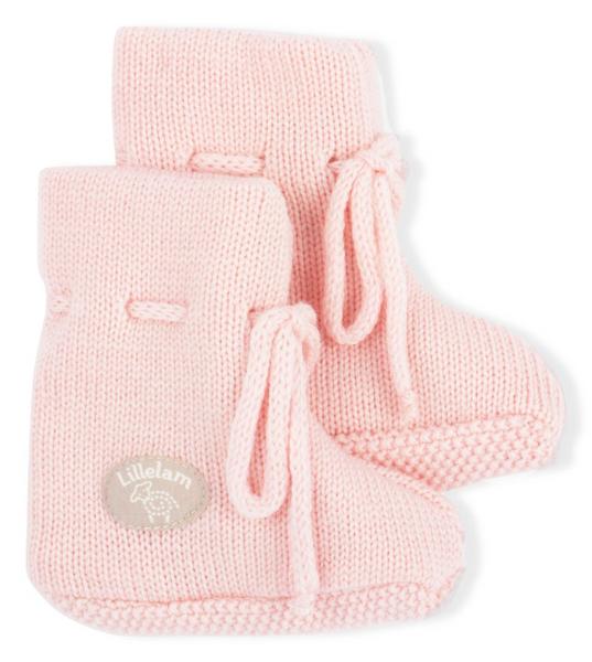 Bilde av Babytøfler ull classic rosa