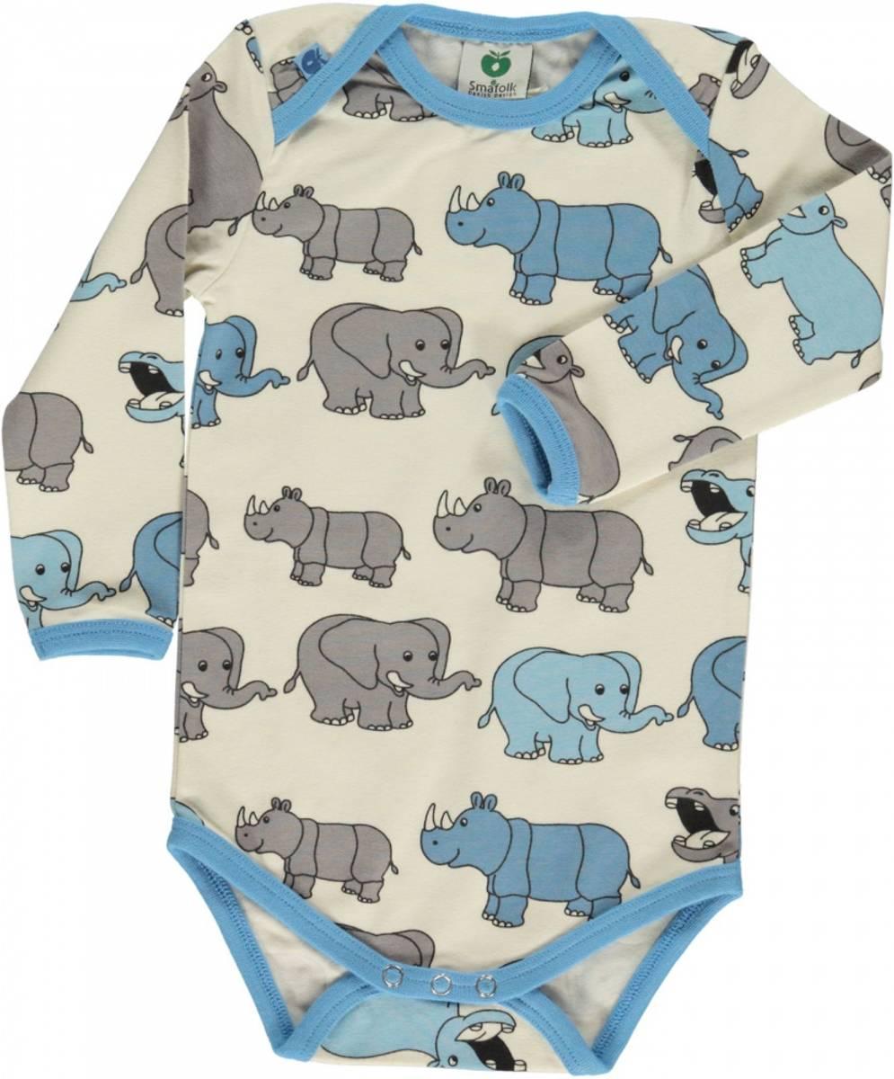 body med elefant air blue