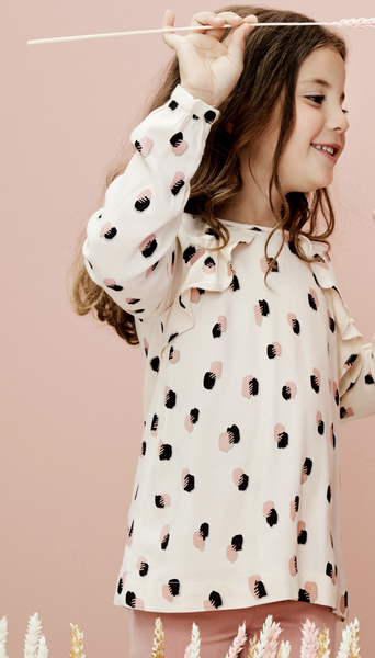 Bilde av bluse mini spotty alesan