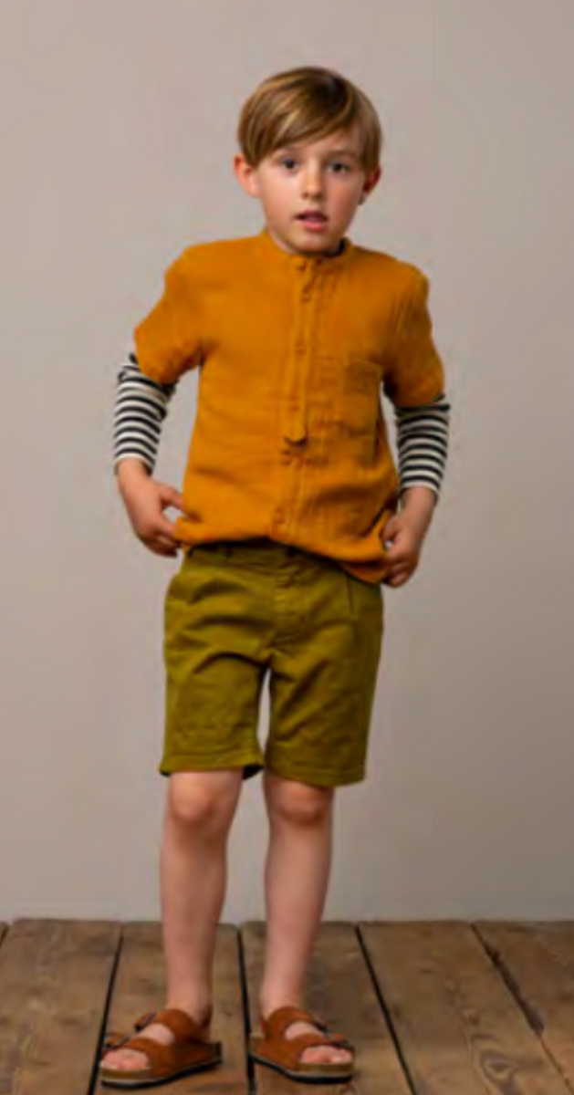 skjorte theodor muslin pumpkin pie